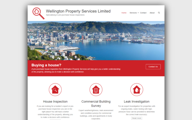 Wellington Property Services Limited | Builders report and pre-purchase house inspections